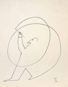 """Saul Steinberg (1914-1999) once said, """"The life of the creative man is led, directed and controlled by boredom."""""""