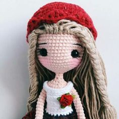 "510 Likes, 14 Comments - Jib Soya (@jib_soya) on Instagram: ""#amigurumi #cute #crochet #handmade #gift #girl #jibsoya"""