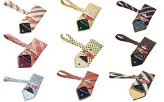 Gadget/Credit Card Wristlet from Recycled Neckties (you could easily DIY these!)