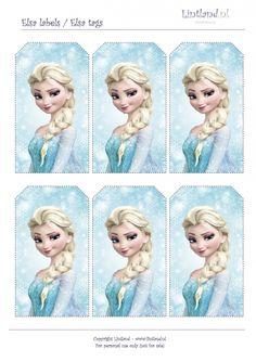 Elsa labels (GRATIS PRINTEN)