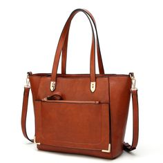 Buy Women Top Handle Handbags Satchel Purse Tote Bag Shoulder Bag for Ladies Bags - Brown - and More Fashion Bags at Affordable Prices. Satchel Purse, Satchel Handbags, Gucci Handbags, Purses And Handbags, Luxury Handbags, Replica Handbags, Fall Handbags, Designer Handbags, Cheap Handbags