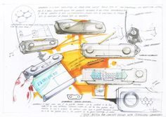 Digital Devices Sketch 2010 by Sihyoung Ryu, via Behance