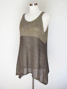 #crochet #knit #tunic #tank #halter #tops #pattern #diagrams