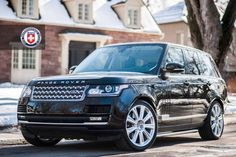 Range Rover on HRE wheels