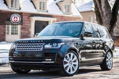 Range Rover on HRE wheels