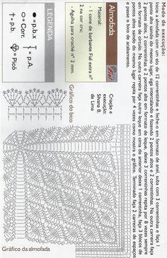 cuscino ::ArtManuais- Tecnicas de Artesanato | Moldes para Artesanato | Passo a Passo::