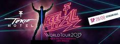 Crooked: Tokio Hotel volta ao Brasil para única apresentaçã...