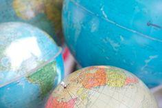 Globes by Frau Sieben