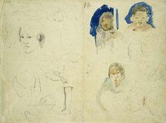 Gauguin and his Secrets  (sketchbook)