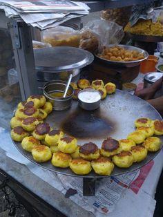 Indian Street Food #chaat #Mumbai #india