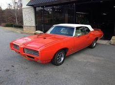 1969 Pontiac GTO Convertible Aussie Muscle Cars, Modern Muscle Cars, Muscle Cars For Sale, Best Muscle Cars, American Muscle Cars, 1969 Gto, 1965 Pontiac Gto, Pontiac Cars, Convertible