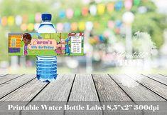 Doc Mcstuffins water bottle label Doc Mcstuffins bottle