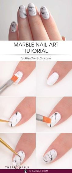 Marble nails art tutorials, it's easier than you though, hope you like it #tutorials #easy #nails #art