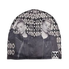Multi beanie one size Marcus & Martinus White Hoodie, Betta, Cool Outfits, Beanie, Cool Stuff, Celebrities, Collection, Martinis, Fandoms