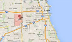 cicero chicago map | This suburb in Illinois immediately west of Chicago is well known for ..