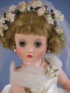 Vintage Madame Alexander Bride Doll