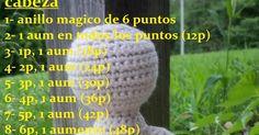 blog de tejido a dos agujas, crochet y manualidades y tambien recetas de cocina Crochet Doll Pattern, Crochet Toys Patterns, Stuffed Toys Patterns, Crochet Dolls, Crochet Hats, Yarn Crafts, Diy And Crafts, Pocket Pal, Nose Shapes