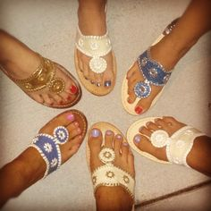 ADPi sisters have an obsession with Jack Rogers!