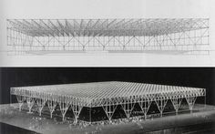 mies van der rohe: convention hall, chicago (1953)