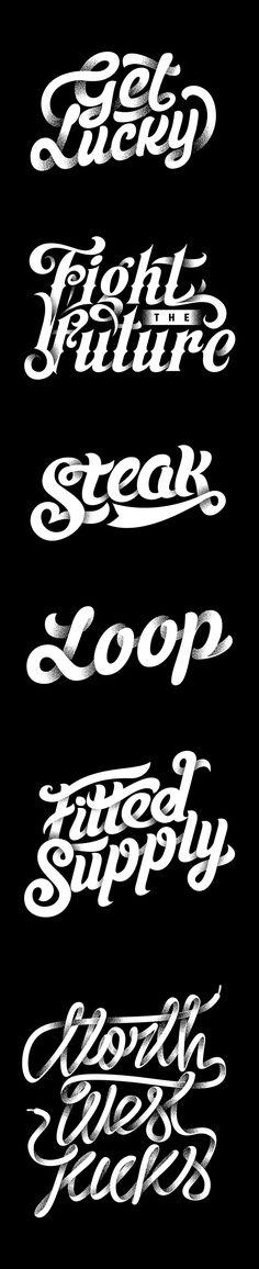 Endofyear Typework on Behance #Font #FontWork #FontDesign