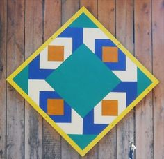 Quilt Block - Wears Valley Produce Barn - Wears Valley, TN - Painted Barn Quilts on Waymarking.com