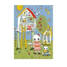 Развивающий детский ковер  JOYFUL KIDS Домик на дереве