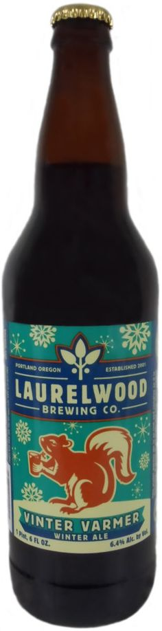 Laurelwood Brewing, Vinter Varmer, highly recommend for those cold winter months.