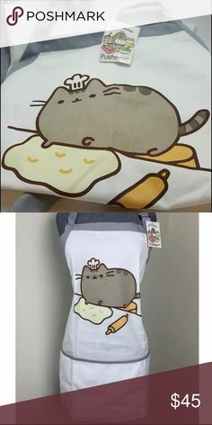 Pusheen The Cat Apron Unisex New with tags. ✨Save $$$ when bundling with other items. NO TRADE Pusheen The Cat Accessories
