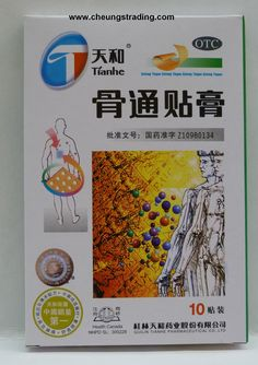 Plaster for arthritis and pain.