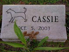 Pet Memorial Marker