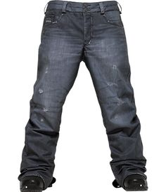 """Burton snowboard """"Jeans Pant"""". Yeah, they're awesome and you know it."""