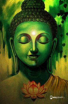 Budha Painting, Painting Canvas, Budha Art, Buddha Artwork, Buddha Canvas, Madhubani Painting, Kalamkari Painting, Little Buddha, Indian Art Paintings