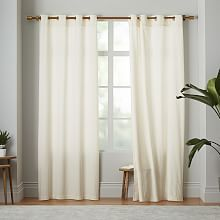 Contemporary Velvet Window Curtains and Drapes | west elm