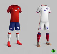 Prototipo CHILE by Nike  #chile #nike #project #soccer #Shirt #design