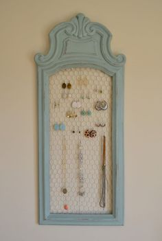 Repurposed Mirror Picture Frames Ideas - Enter DIY