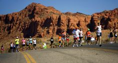 I remember this hill. St George Marathon in Utah