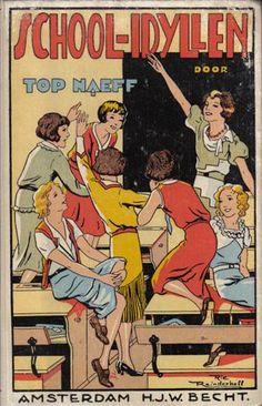 Stichting 't Oude Kinderboek - StOKpaardje Vintage Children's Books, Vintage Posters, Nocturne, Book Title, Sweet Memories, Childhood Memories, Childrens Books, My Books, The Past