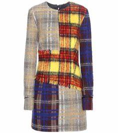 Ebele Check wool-blend dress   Acne Studios