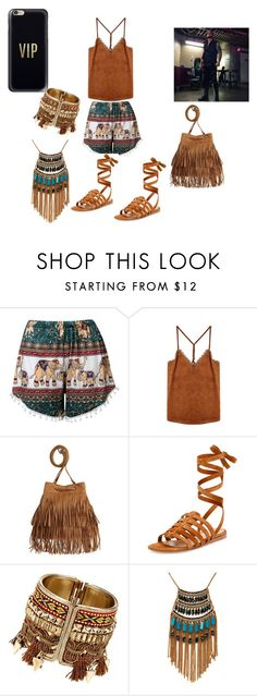 """""""Meeting Baron Corbin"""" by simply-07 on Polyvore featuring Gianvito Rossi, Leslie Danzis, Casetify and WWE"""