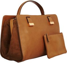The Row Doctor Bag in Brown (tan) - Lyst