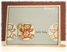 hello baby by prchvs - Cards and Paper Crafts at Splitcoaststampers