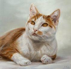 Natuur en Dierenkunst door Marjolein Kruijt: kattenkunst (cats)