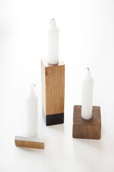 Slant Candle Set