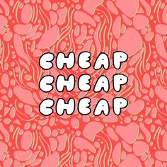 Elisa Mac 'Cheap' Type www.elisamac.com