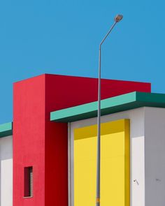 Rainbow Architecture: Geometric Abstraction of Istanbul by Yener Torun #photography #Istanbul #architecture #geometry #rainbow