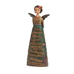 kelley rae roberts worthy   Trusting Heart Angel Figure