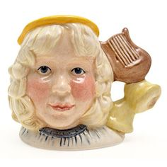 Royal Doulton Miniature Character Jug, Angel D7051, Mini