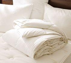 Classic Down Comforter #potterybarn