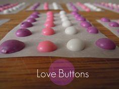 Homemade Candy Buttons Dot candy