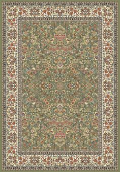 Dynamic Rugs | Ancient Garden 57078-4444